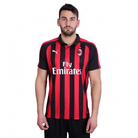 Camiseta Puma Ac Milan Home Replica 2018/2019