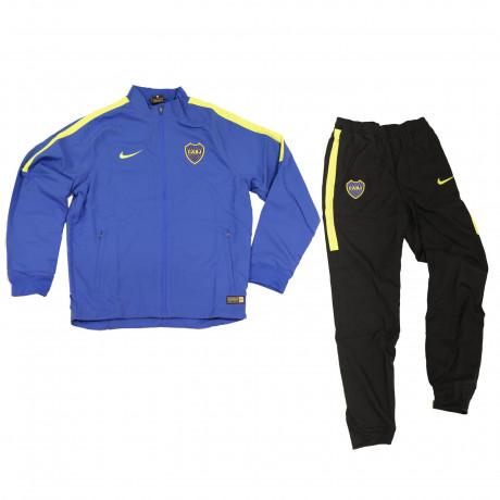 Conjunto Deportivo Nike Boca Dry Squad 16 Kids