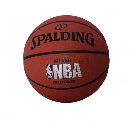 Pelota Spalding NBA Silver Outdoor