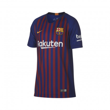 Camiseta Nike Breathe FC Barcelona Stadium Home Kids 2018/2019