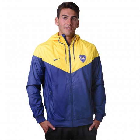 Campera Nike Boca Juniors Windrunner