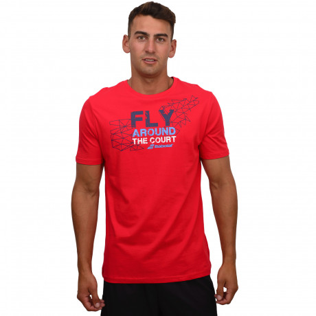 Remera Babolat Fly Arround The Court
