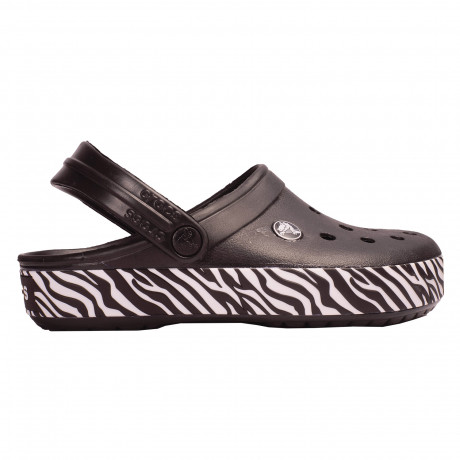 Zuecos Crocs Crocband Animal Print