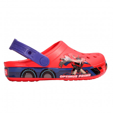Zuecos Crocs Crocband Optimus Prime Kids