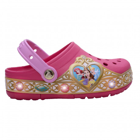 Zuecos Crocs Disney Princess Lights Clog