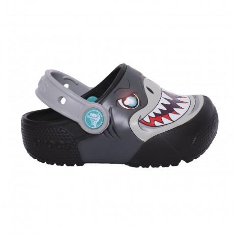 Zueco Crocs Crocband Funlab Lights Clog Kids