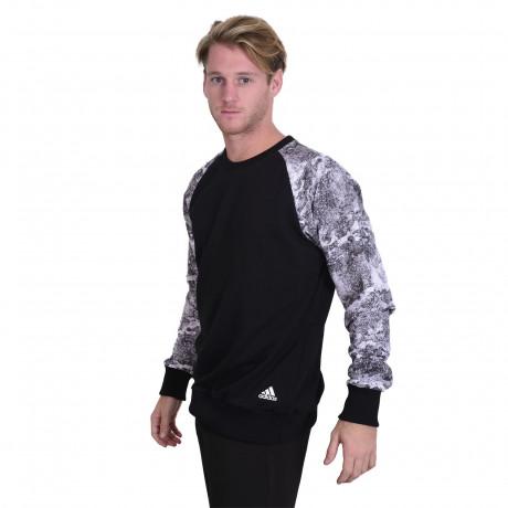 Buzo Adidas Essential 3S Crew