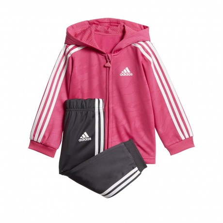 Conjunto Adidas Shiny Zip Hooded Jagger