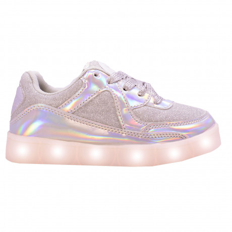 Zapatillas Footy Mirror Holograma