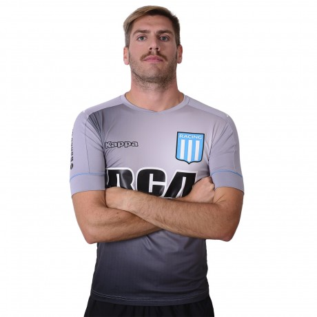 Camiseta Kappa Arquero Racing Club 2017