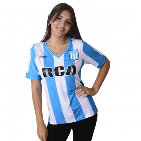 Camiseta Kappa Racing Club Stadium Dama 2017
