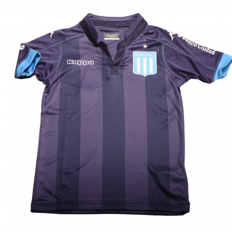 2a7c83dcd7464 Camiseta Kappa Racing Club Away 2017 Stadium Kids