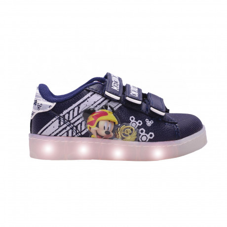 Zapatillas Addnice Led Usb Mickey Racers