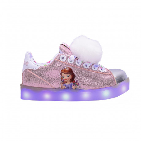 Zapatillas Addnice Led Usb Princesa Sofia