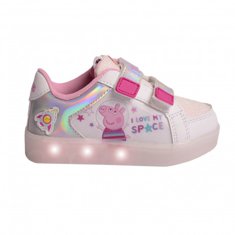 Zapatillas Footy Led Peppa Pig