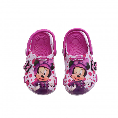 Zuecos Addnice Minnie Dots