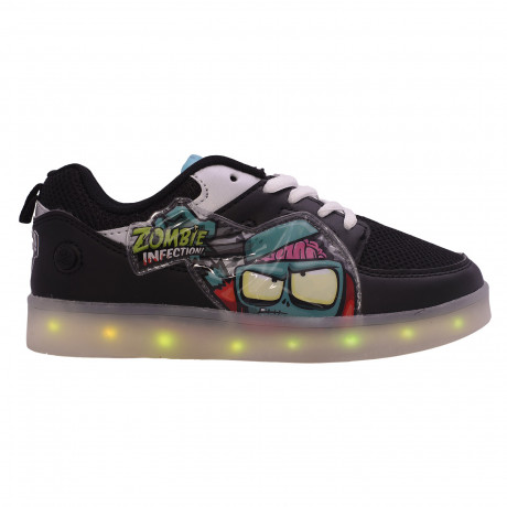 Zapatillas Footy Led Zombie Infection