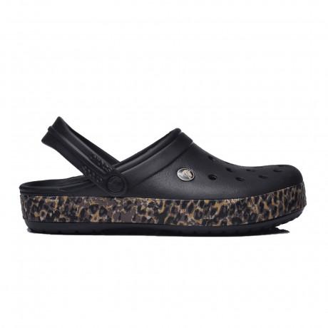 Zuecos Crocs Crocband Leopard